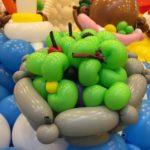 Balloon Salad Sculpture