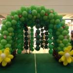 Balloon Tunnel by Kaden Tan