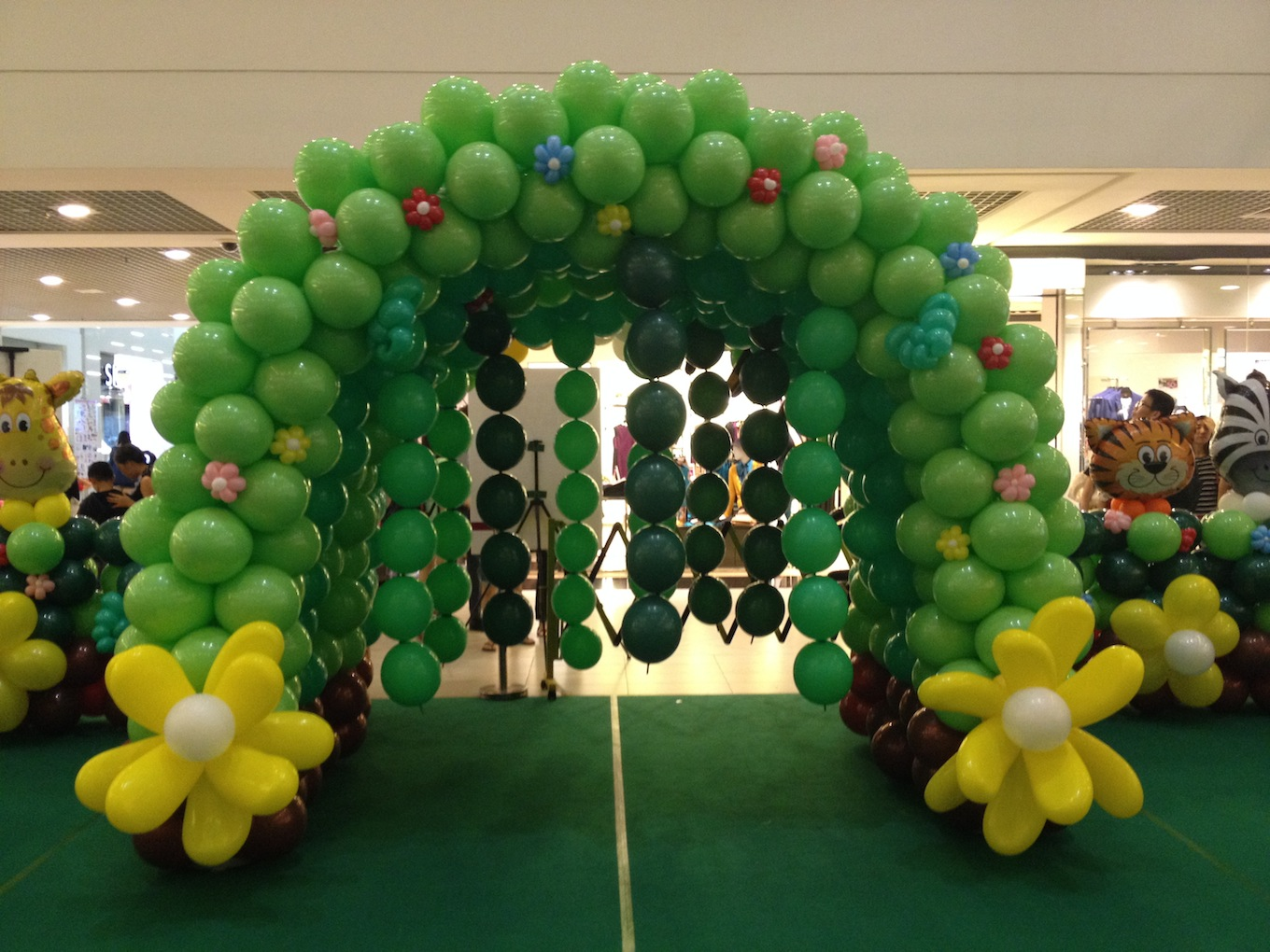 Balloon decoration ideas that balloons for Ballons decoration