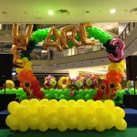 Customised Balloon Arch Display