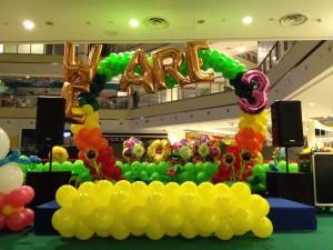 Customised Balloon Arch Display