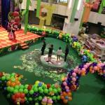 Singapore Balloon Garden Decoration