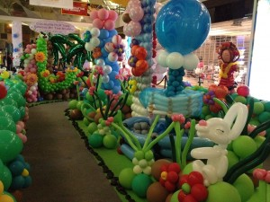 The Central Mall Balloon Decoration