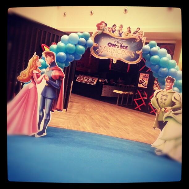 Disney Princess Balloon Arch