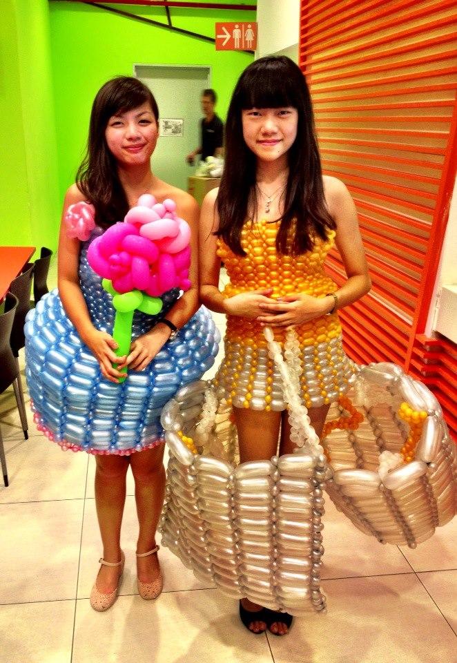 Balloon Dress for NP Open House