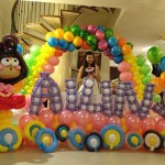 Balloon Backdrop Display