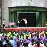 Balloon Workshop at Raffles Girls School