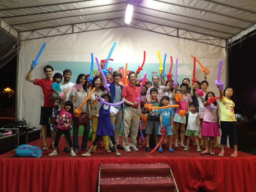 Stage Balloon Workshop