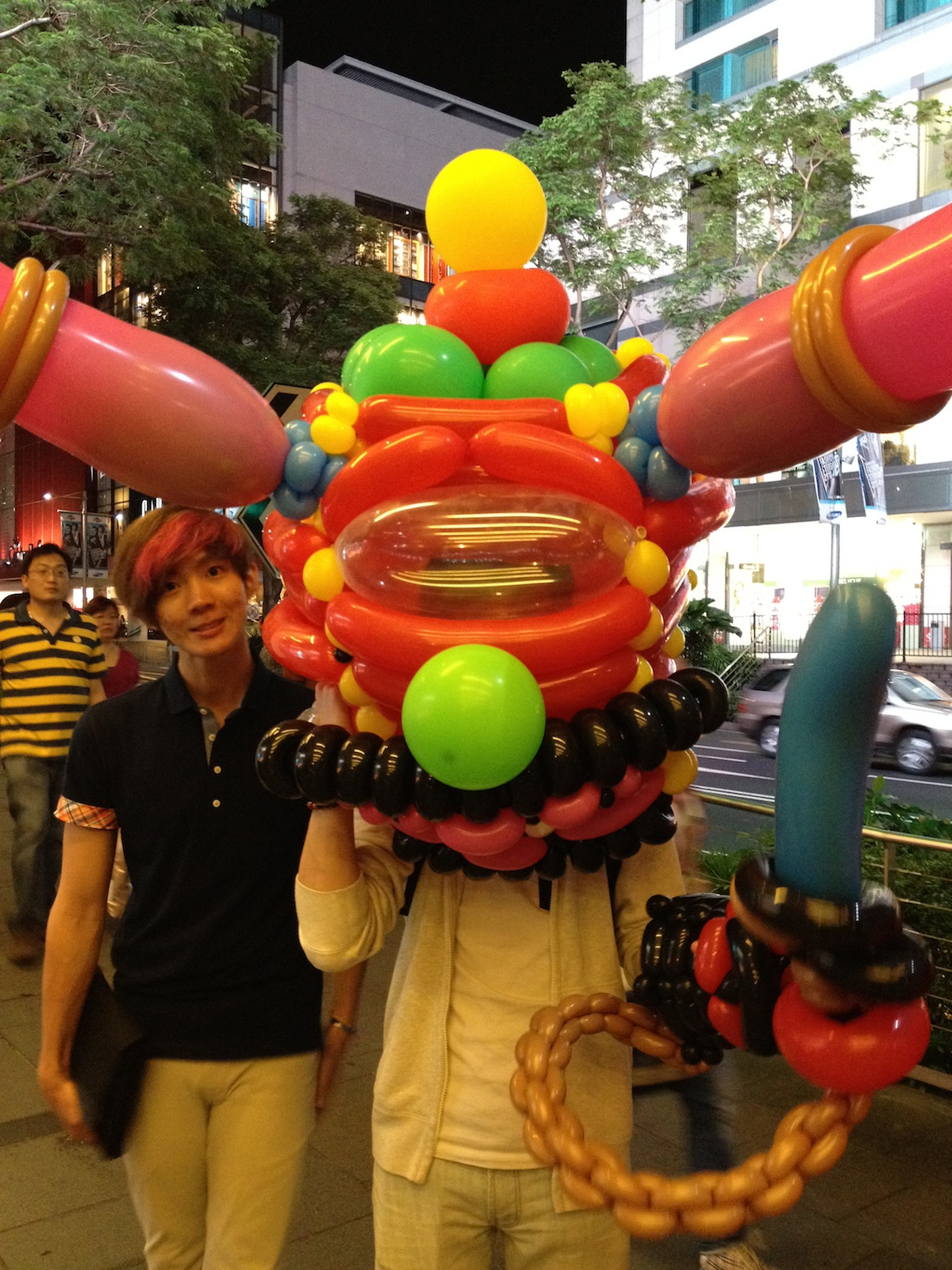 Balloon Mascot Monster