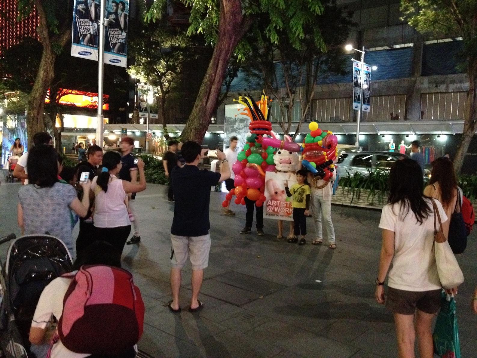 Balloon Mascot in Singapore