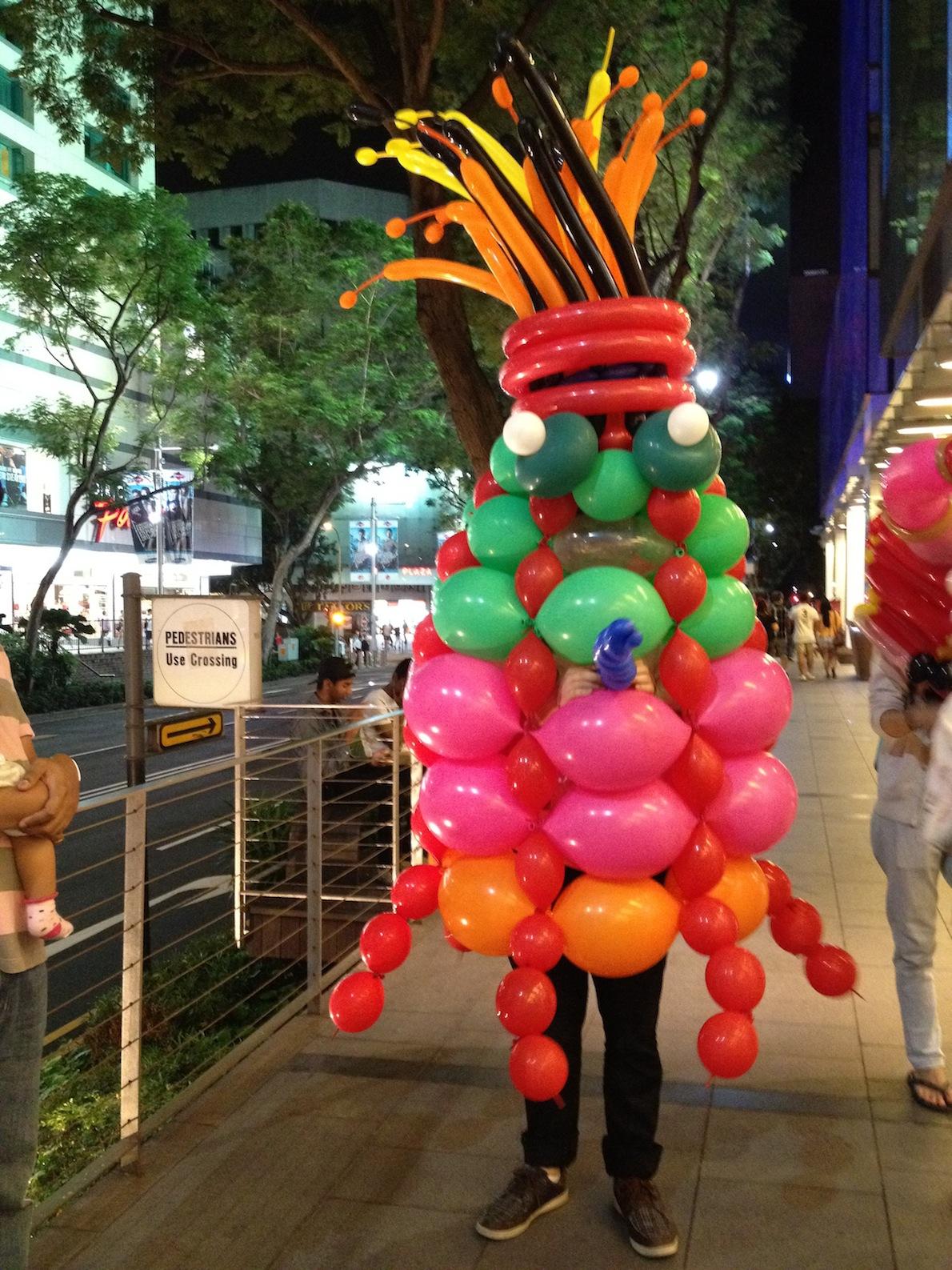 Singapore Balloon Mascot