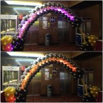 Customised LED Balloon Arch
