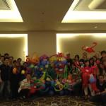 Balloon Workshop for NEA Singapore