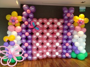 Balloon Backdrop Display THAT Balloons