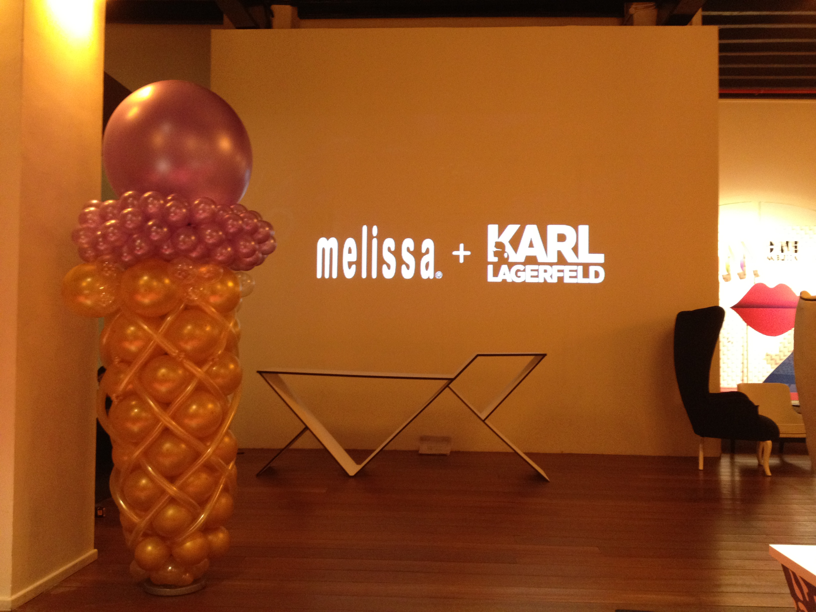 Customised Balloon for Karl Lagerfeld
