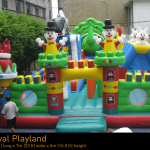 Big Inflatable Bouncy Castle
