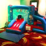 Football Combo Bouncy Castle