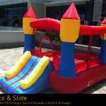 Inflatable Bounce and slide Castle