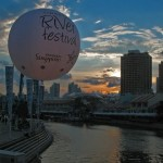 Large Advertising Balloon