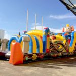 Robot Inflatable Obstacle Course