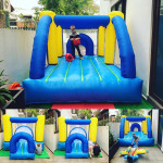Small Bouncy Castle Birthday Party