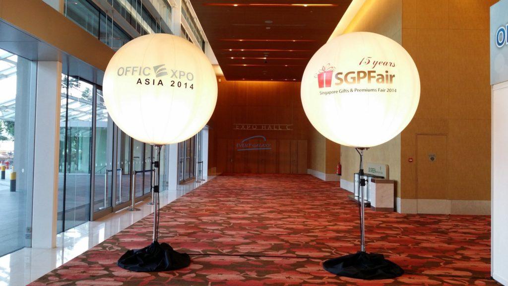 Giant Advertising Balloon Stand Singapore