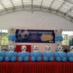 Soccer Balloon Decoration