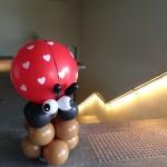 Balloon Ladybug Display