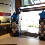 Balloon Star Pillars