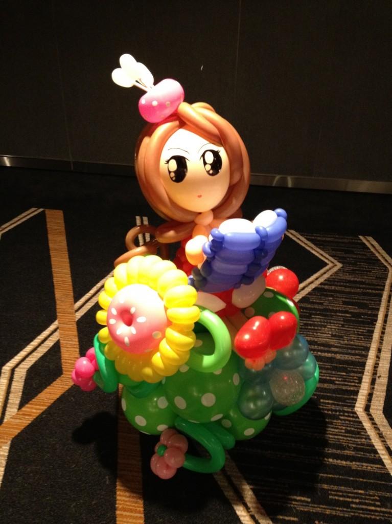 Customised Balloon Display