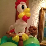 Balloon Rooster