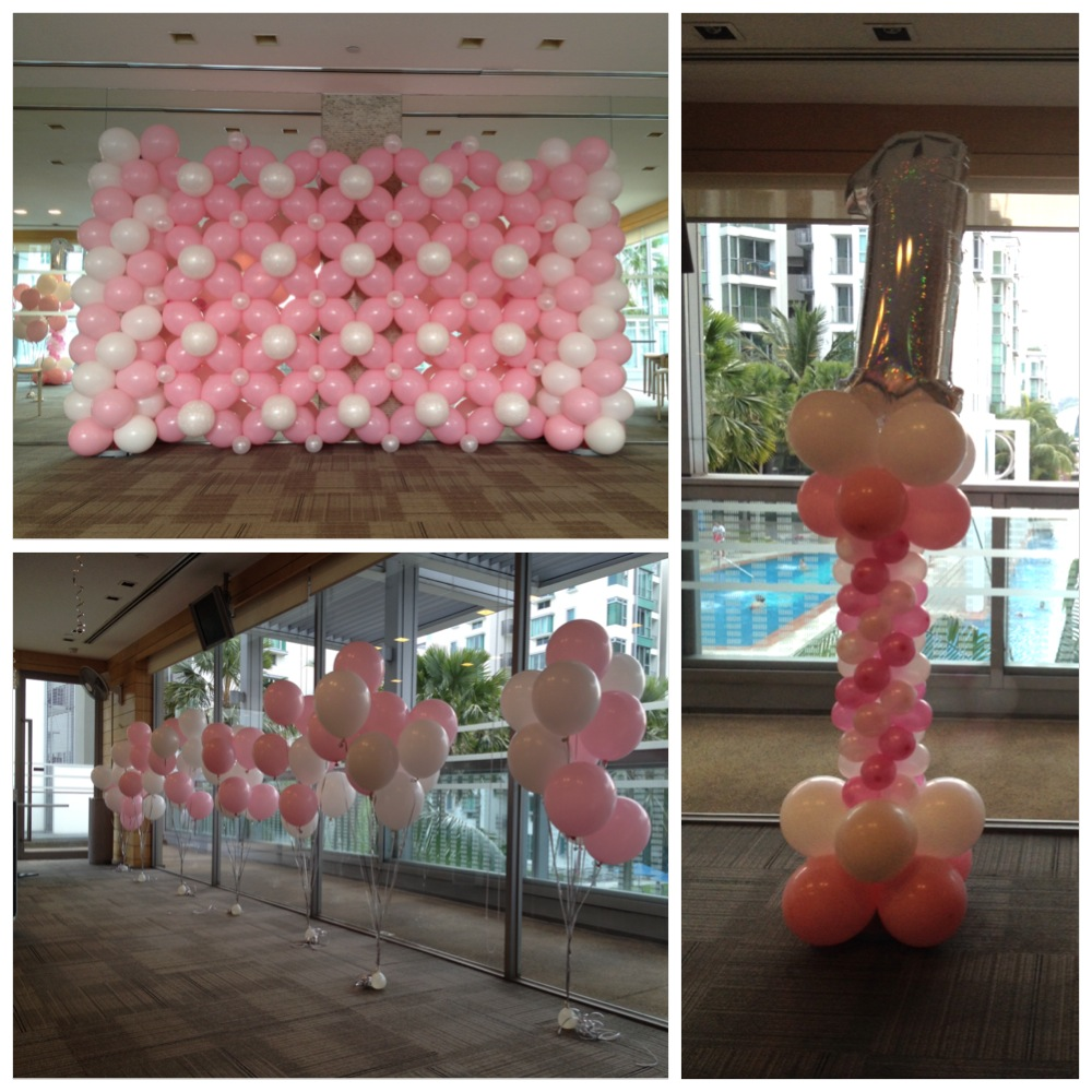 21st birthday balloon decoration ideas image inspiration for Balloon decoration ideas for birthday party