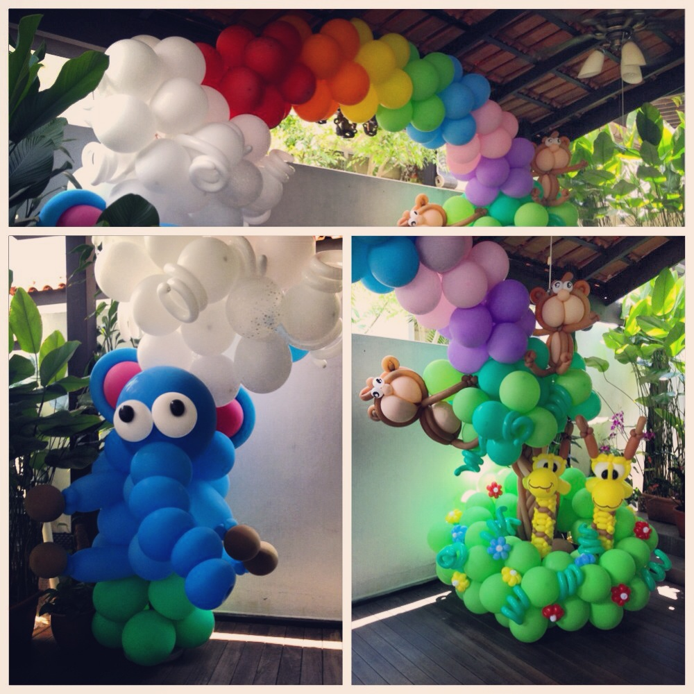 Birthday party balloon decoration ideas for Balloon decoration ideas for birthday party