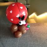 Ladybug Balloon Display