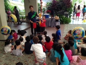 Singapore kids magician