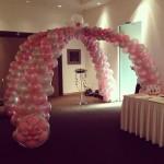 Wedding Balloon Entrance