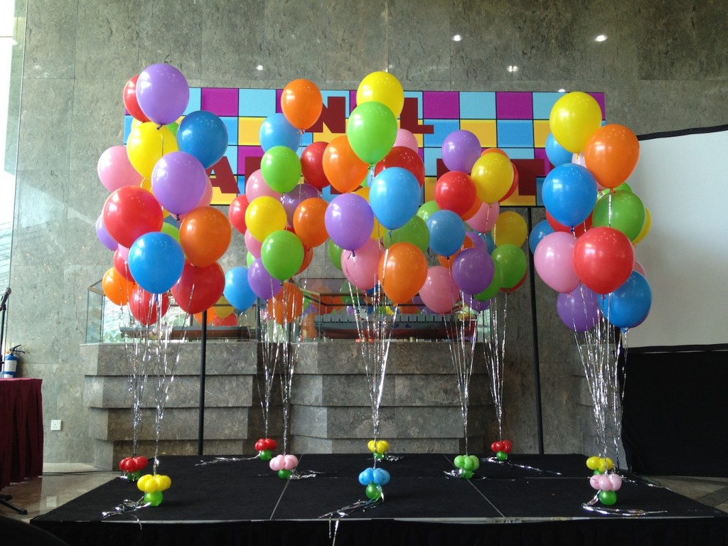 Helium Balloons Decor