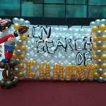 Balloon Painter Backdrop Display