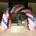 Sprial Balloon Arch