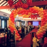 Balloon Heart Shaped Arch