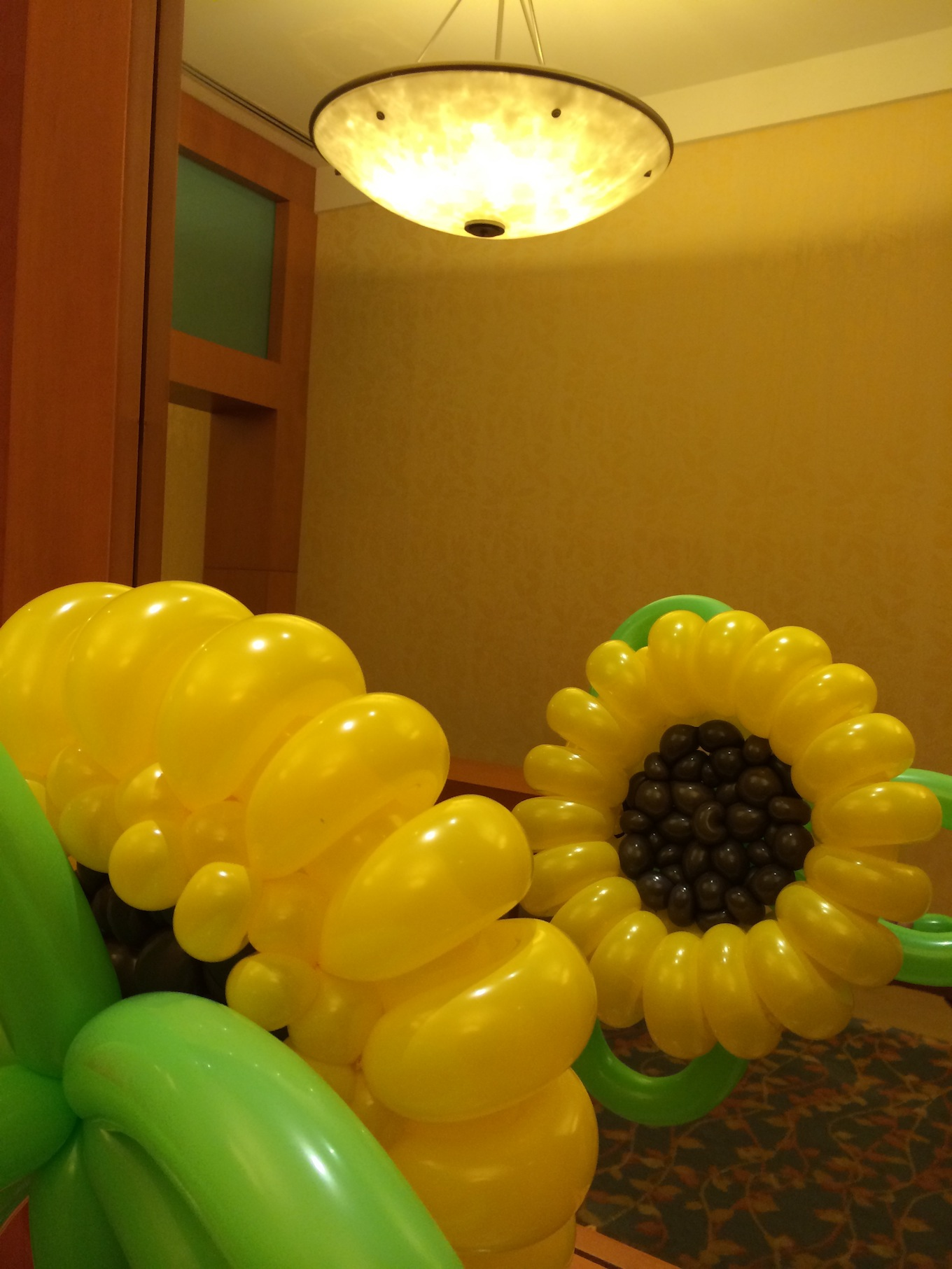 Balloon Sunflower Sculpture Singapore