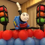 Balloon Thomas the train