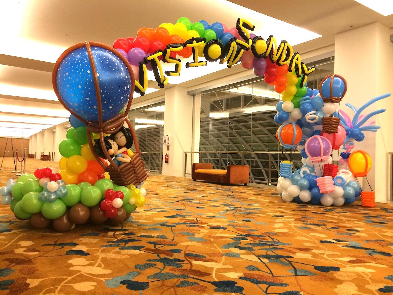 Hot Air Balloon Arch