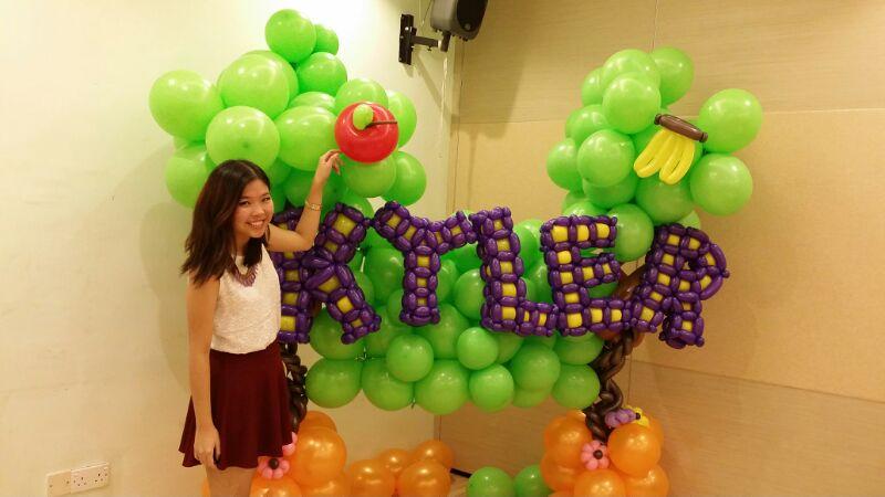 Balloon Backdrop Display