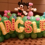 KINGSLES Balloon Backdrop Display