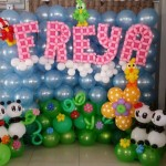 FREYA Balloon Backdrop Display