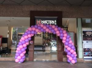 Entrance Sprial Balloon Arch