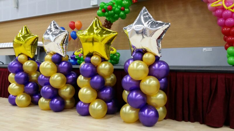 Balloon Star Stand