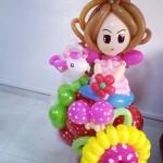 Balloon Princess Centrepiece