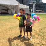 Balloon Sculpting at DBS Event
